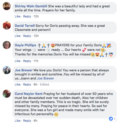 Doris In Memoriam htm